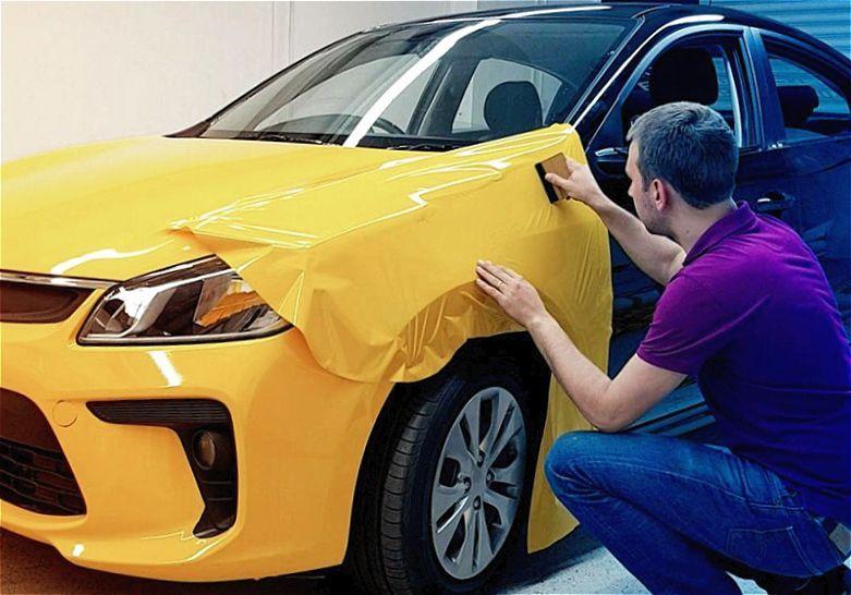 Что нужно для изменения цвета авто?
