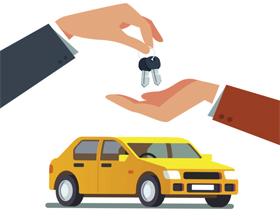 Передача авто после оформления договора купли-продажи
